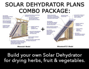 DIY solar dehydrator plans